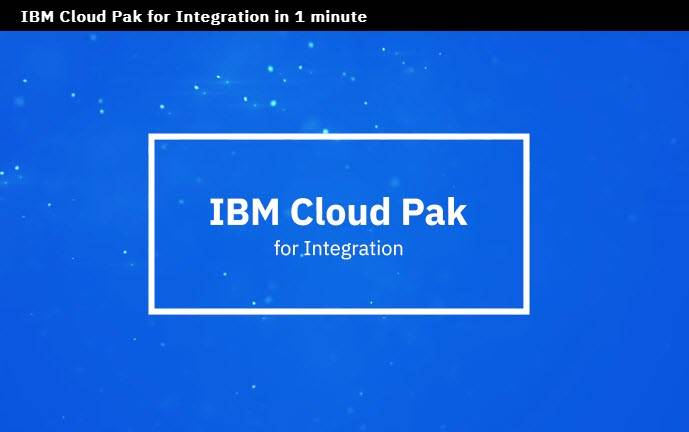 IBM Cloud Pak for Integration